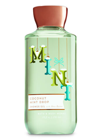 Signature Collection Coconut Mint Drop Shower Gel - Bath And Body Works