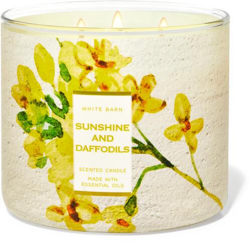 Sunshine & Daffodils 3-Wick Candle