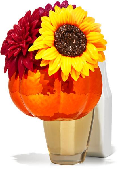 Floral Pumpkin Planter Wallflowers Fragrance Plug