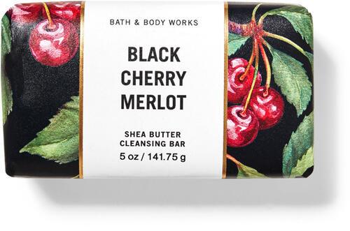 Black Cherry Merlot Shea Butter Cleansing Bar