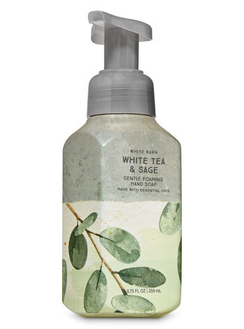 White Tea & Sage Gentle Foaming Hand Soap - Bath And Body Works