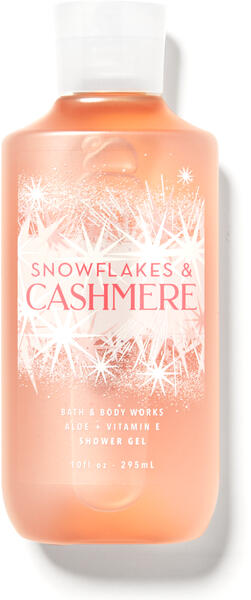 Snowflakes & Cashmere Shower Gel