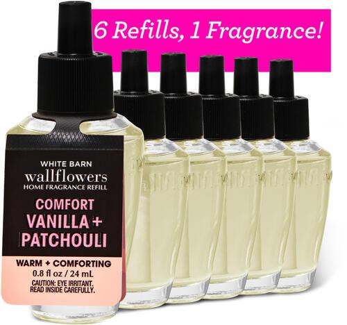 Vanilla Patchouli Wallflowers Refills, 6-Pack