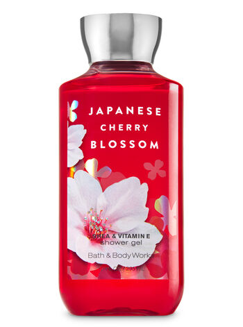 Signature Collection Japanese Cherry Blossom Shower Gel - Bath And Body Works