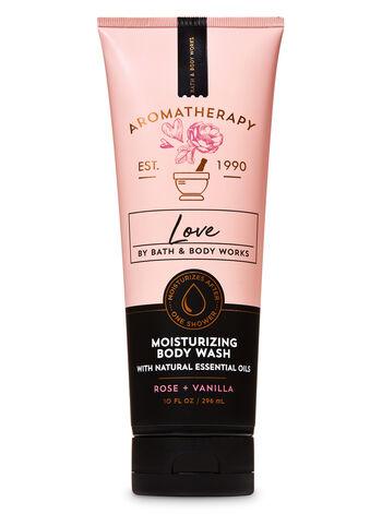 Aromatherapy Rose Vanilla Moisturizing Body Wash - Bath And Body Works