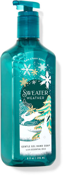 Sweater Weather Gentle Gel Hand Soap