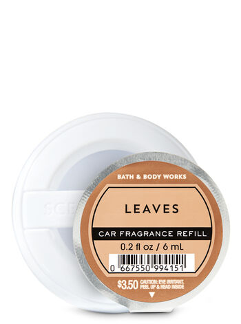 Leaves Car Fragrance Refill - Bath And Body Works