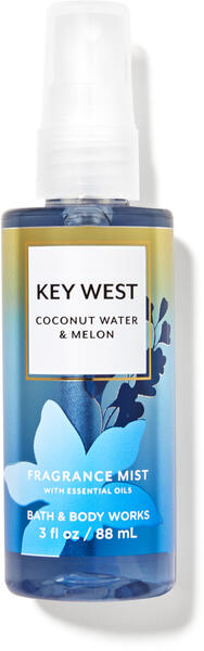 Key West Coconut Water & Melon Travel Size Fine Fragrance Mist