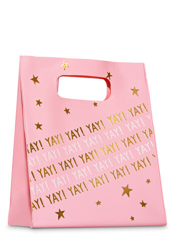 Pink Stars Gift Bag - Bath And Body Works