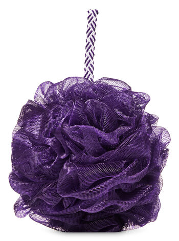 Purple Mesh Shower Sponge - Bath And Body Works