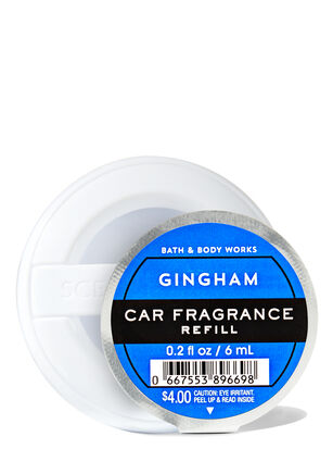 Gingham Car Fragrance Refill