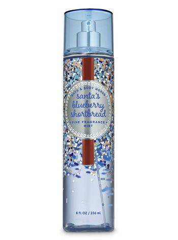 Santa's Blueberry Shortbread Fine Fragrance Mist - Bath And Body Works