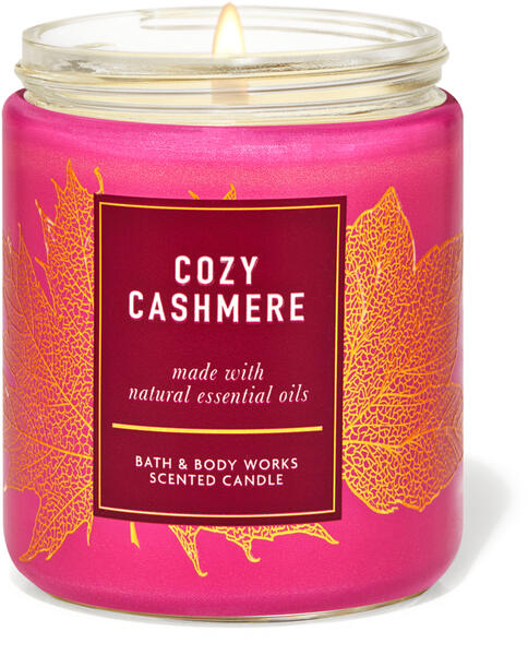 Cozy Cashmere Single Wick Candle