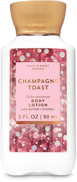 Champagne Toast Travel Size Body Lotion