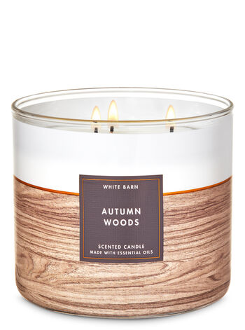 Autumn Woods 3-Wick Candle