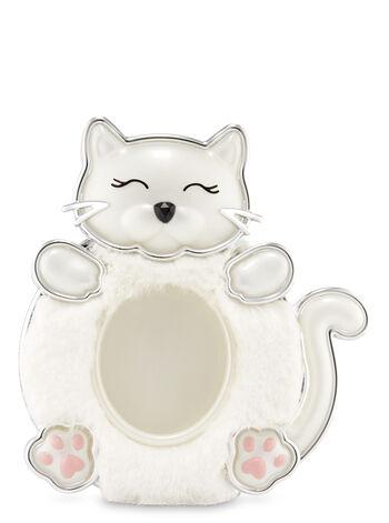 Fuzzy Kitty Visor Clip Car Fragrance Holder