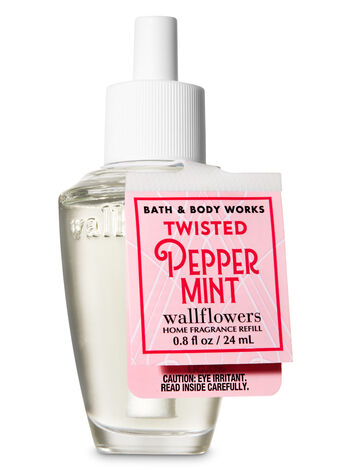 Twisted Peppermint Wallflowers Fragrance Refill - Bath And Body Works