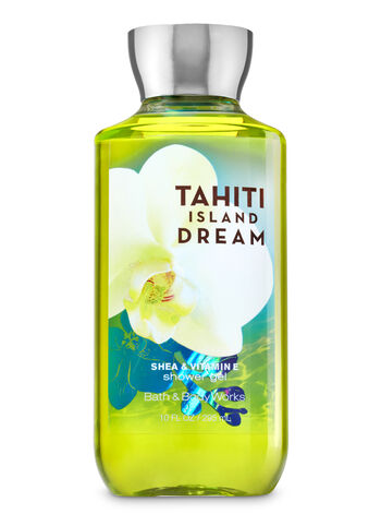 Signature Collection Tahiti Island Dream Shower Gel - Bath And Body Works