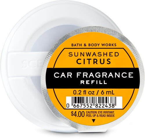 Sun-Washed Citrus Car Fragrance Refill