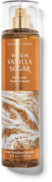 Warm Vanilla Sugar Fine Fragrance Mist