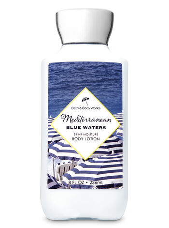 Signature Collection Mediterranean Blue Waters Super Smooth Body Lotion - Bath And Body Works