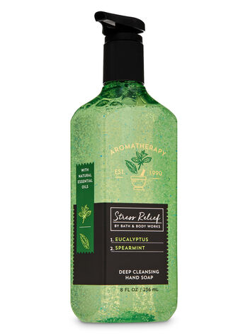 Aromatherapy Eucalyptus Spearmint Deep Cleansing Hand Soap - Bath And Body Works