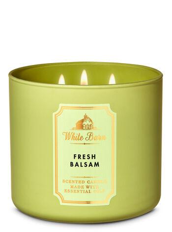 Fresh Balsam 3-Wick Candle