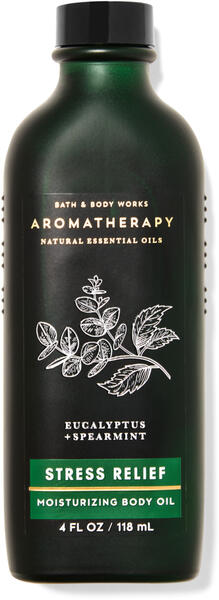 Eucalyptus Spearmint Moisturizing Body Oil