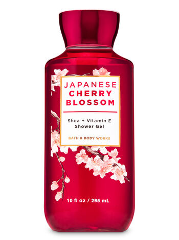 Japanese Cherry Blossom Shower Gel - Bath And Body Works