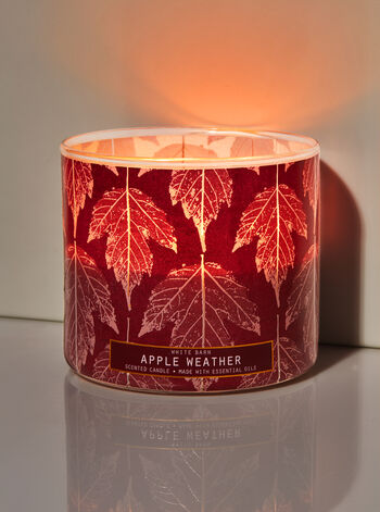 Apple Weather 3-Wick Candle