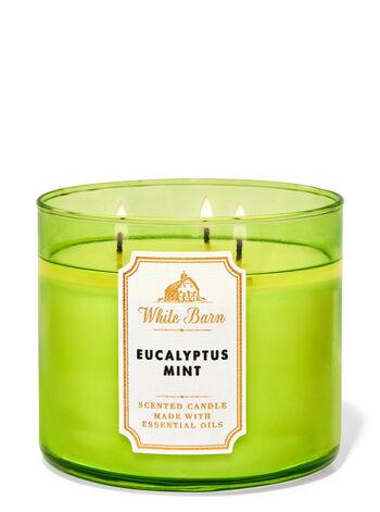 Eucalyptus Mint 3-Wick Candle | Bath & Body Works