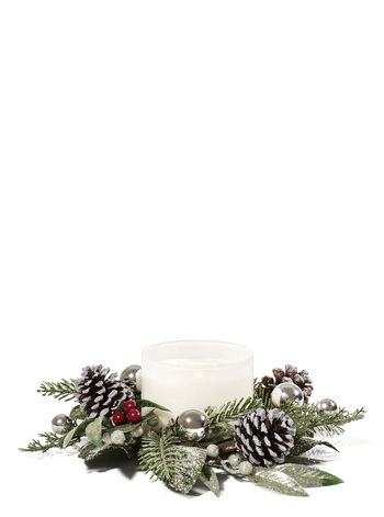 Nordic Pinecone 3-Wick Candle Ring - Bath And Body Works