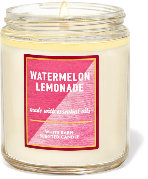 Watermelon Lemonade Single Wick Candle