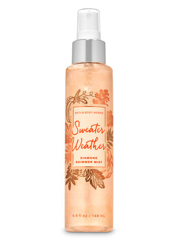 Sweater Weather Diamond Shimmer Mist - Bath And Body Works