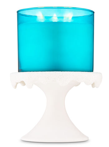 Snow Melt Pedestal 3-Wick Candle Holder - Bath And Body Works
