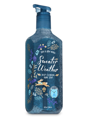 Sweater Weather Deep Cleansing Hand Soap - Bath And Body Works