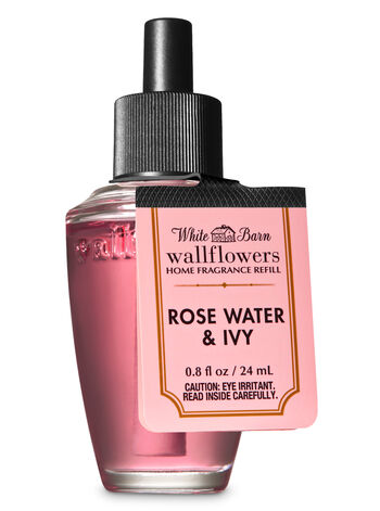 White Barn Rose Water & Ivy Wallflowers Fragrance Refill - Bath And Body Works