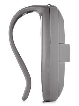 Gray Soft Touch Visor Clip Car Fragrance Holder