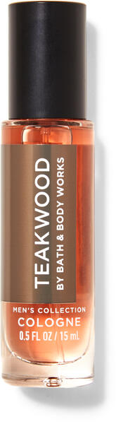 Teakwood Mini Cologne
