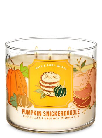 Pumpkin Snickerdoodle 3-Wick Candle