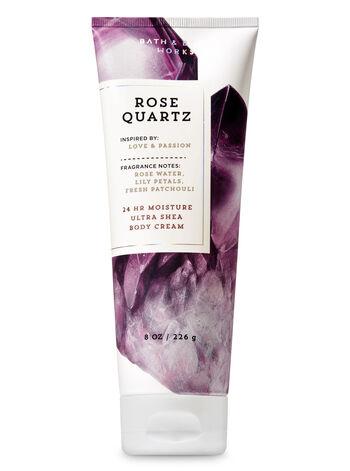 Signature Collection Rose Quartz Ultra Shea Body Cream - Bath And Body Works