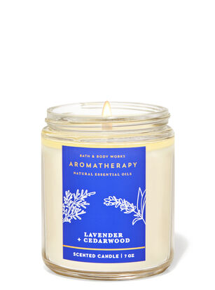 Lavender Cedarwood Single Wick Candle
