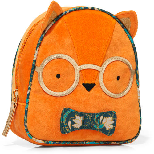 Fox with a Bowtie Cosmetic Bag