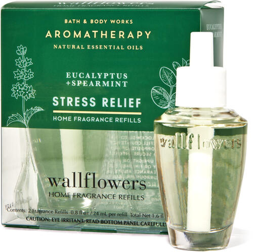 Eucalyptus Spearmint Wallflowers Refills, 2-Pack
