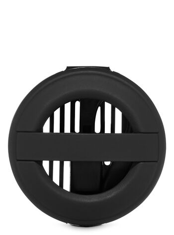 2 in 1 Black Soft Touch Car Fragrance Holder