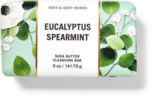 Eucalyptus Spearmint Shea Butter Cleansing Bar