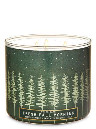 Fresh Fall Morning 3-Wick Candle