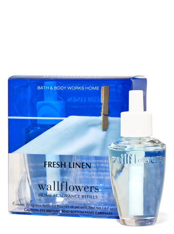 Fresh Linen Wallflowers Refills 2-Pack