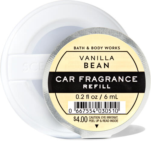Vanilla Bean Car Fragrance Refill