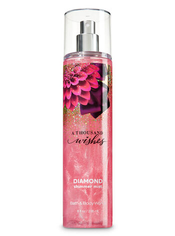 Signature Collection A Thousand Wishes Diamond Shimmer Mist - Bath And Body Works